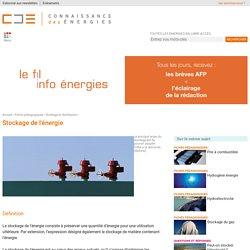 Stockage d'énergie : définition, explications, formes et principes
