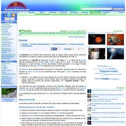 Densité - Définition - Encyclopédie scientifique en ligne