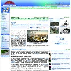 Paysage - Définition - Encyclopédie scientifique en ligne