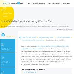 La SCM (Société cvile de moyens) : Définition et fonctionnement