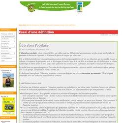 Essai d'une définition Education populaire - foyersruraux5962.com