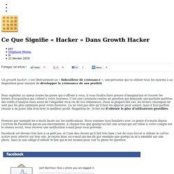 Définition Growth Hacking : tout ce que vous devez savoir - Gaufre Hacking