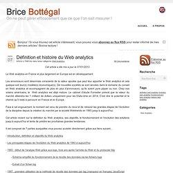 Définition et histoire du Web analytics