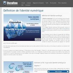 Définition de l'identité numérique