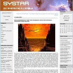 """Pour une définition du """"style"""" dans l'imaginaire: lecture de La Horde du Contrevent, d'Alain Damasio : Systar"""