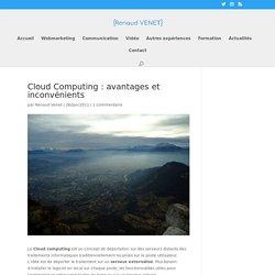 Le Cloud Computing : définition, avantage et inconvénients