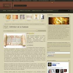 Définition de la Kabbale pour Un Goy
