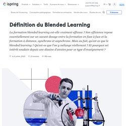 Définition de blended learning : modèles, exemples et outils