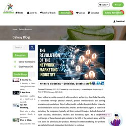 Network Marketing – Definition, Benefits and Legitimacy