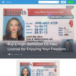 Best Excellent Quality US Fake License with the Club 21 IDs