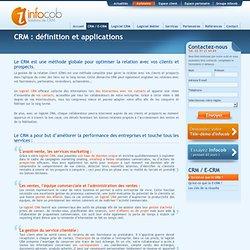 Définition CRM : logiciel CRM Infocob