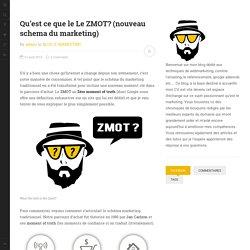 Qu'est ce que le ZMOT? définition du ZMOT: zero moment of truth