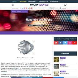 Nanotube de carbone : définition
