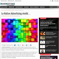 Définition du Native Advertising