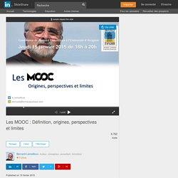 Les MOOC : Définition, origines, perspectives et limites