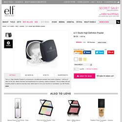 High Definition Powder from elf Cosmetics | Buy High Definition Powder online - StumbleUpon