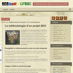 Projet SEO : La gestion & définition d'une stratégie de référencement