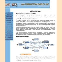 Définition SAP simple et concise