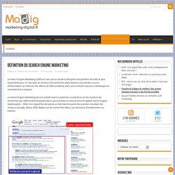 Définition du Search Engine Marketing