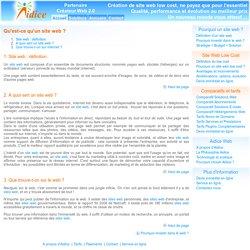 Définition site web
