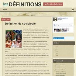 Définition de sociologie