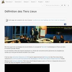 Définition des Tiers Lieux — Movilab.org