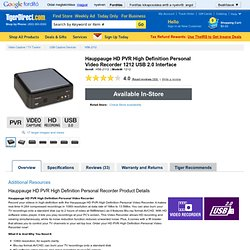 Hauppauge 1212 HD PVR at TigerDirect