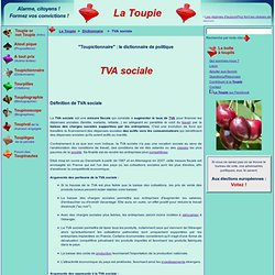 TVA sociale