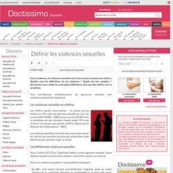 Définition des violences sexuelles - Violences sexuelles