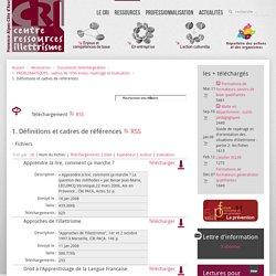 1. Définitions et cadres de références