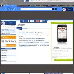 Définition : arrosage - Dictionnaire Français Larousse