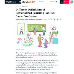 Different Definitions of Personalized Learning Conflict, Cause Confusion