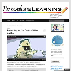 Definitions « Personalizing Learning
