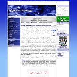 Rythmes cérébraux, activité électro-encéphalo-graphique