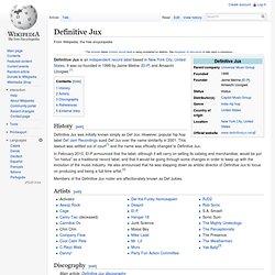 Definitive Jux