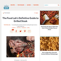 The Food Lab's Definitive Guide to Grilled Steak