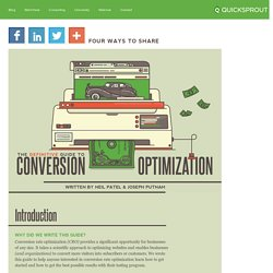 The Definitive Guide To Conversion Optimization