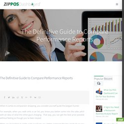 The Definitive Guide to Compare Performance Reports - Zip POS Dashboard