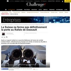 La Suisse ne ferme pas définitivement la porte au Rafale de Dassault