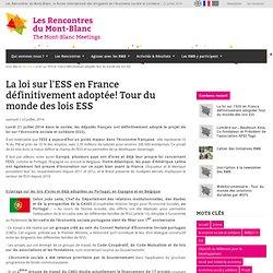 Les Rencontres du Mont-Blanc, le forum international des dirigeants de l'économie sociale et solidaire