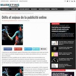 Défis et enjeux de la publicité online