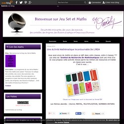defis mathematiques - Bienvenue sur le blog Jeu Set et Maths