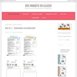 Défis Thymio Archives - Des robots en classe