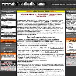 LA DEFISCALISATION POUR LES PARTICULIERS