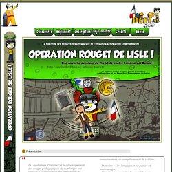 Défiweb 2016 - Opération Rouget de Lisle
