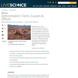 Live Science: Deforestation