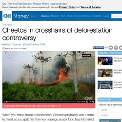 Cheetos in crosshairs of deforestation controversy - Mar. 30, 2016