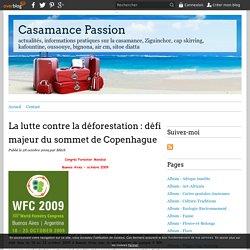 La lutte contre la déforestation : défi majeur du sommet de Copenhague - Casamance Passion