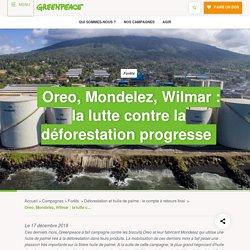 Oreo, Mondelez, Wilmar : la lutte contre la déforestation progresse