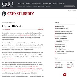 Defund REAL ID